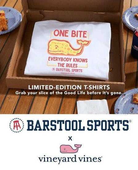 Just Arrived: Barstool Sports Limited-Edition Tees from vineyard vines