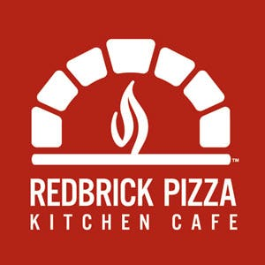 Red Brick Pizza Kitchen Caf'e Logo