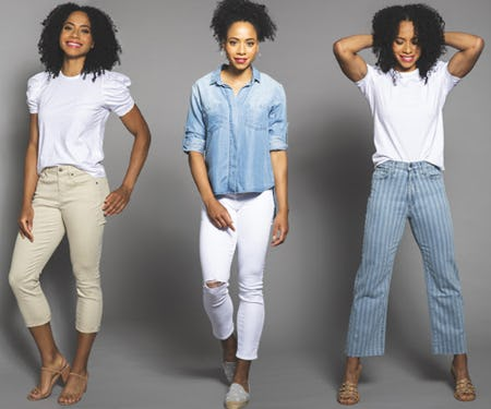Summer Cropped Denim from Von Maur