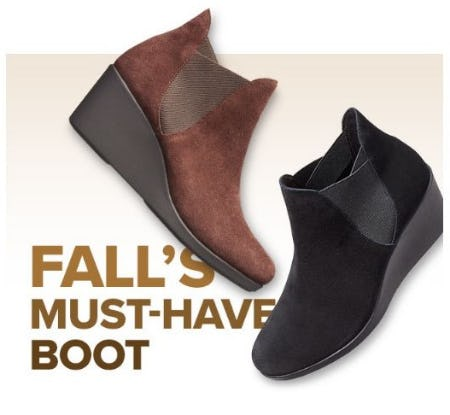 Fall's Must-Have Item: The Leigh Wedge Chelsea Boot