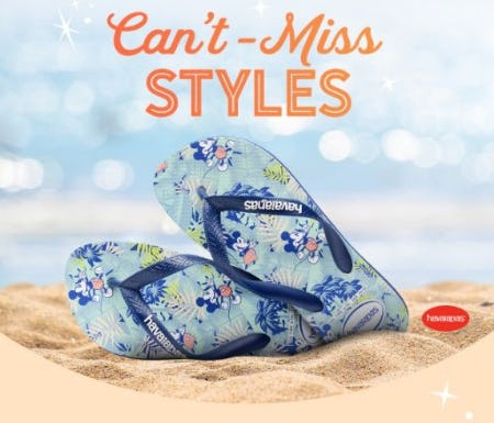 New Arrivals from Havaianas and More from Disney Store