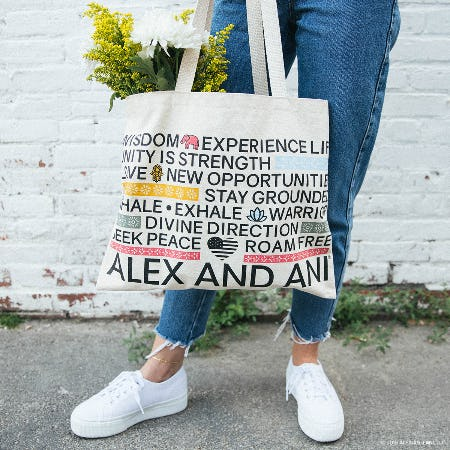 Get a Free Alex and Ani Tote Bag