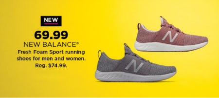 69.99 New Balance Shoes from Kohl's
