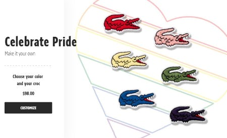 Show Your Pride from Lacoste