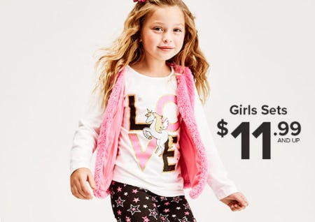 Girls Sets From $11.99 and Up from Rainbow