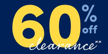 60% Off Clearance from J.Crew Mercantile