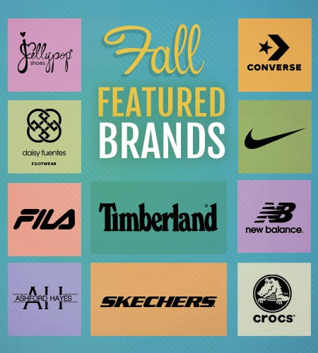 Fall Features! from SHOE DEPT. ENCORE