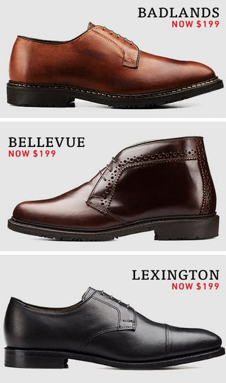 Selected Shoe Styles at $199