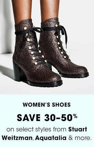 Women's Shoes Save 30-50% from Bloomingdale's