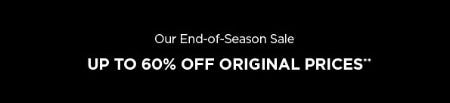 Up to 60% Off End-Of-Season Sale from Eileen Fisher