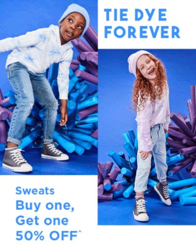 Sweats Buy One, Get One 50% Off from Cotton On Kids