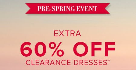 Extra 60% Off Clearance Dresses