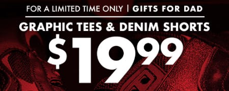 Graphic Tees & Denim Shorts $19.99 from EbLens Clothing and Footwear