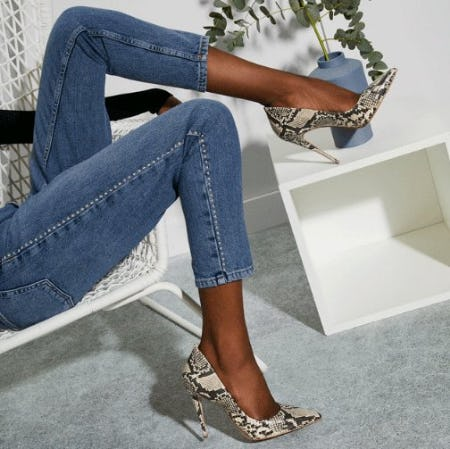 Snakeskin Print is Having a Moment from ALDO Shoes