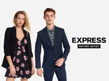 400+ New Arrivals Up to 40% Off from Express Factory