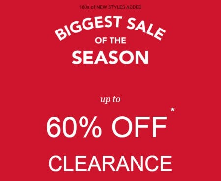 Up to 60% Off Clearance from maurices
