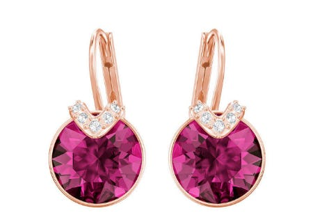 Bella V Pierced Earrings from Swarovski