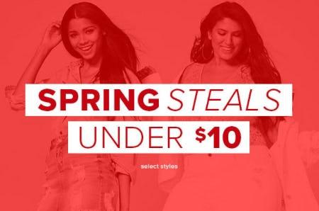 Spring Steals Under $10 from Rainbow