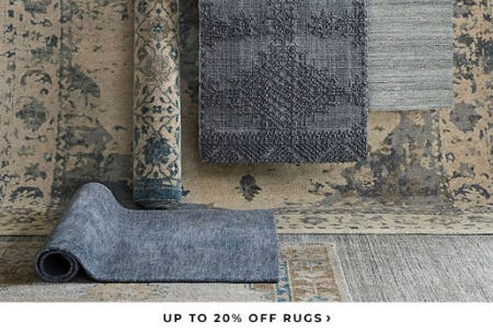 Up to 20% Off Rugs