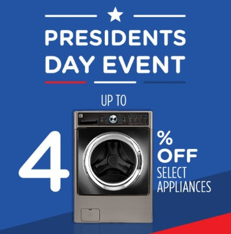 Up to 40% Off Select Appliances from Sears