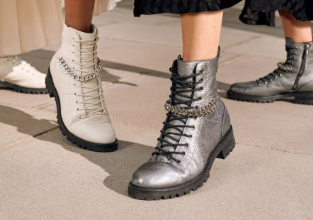 The Perfect Combat Boots from Jimmy Choo
