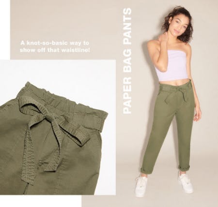 Paper Bag Pants from Garage