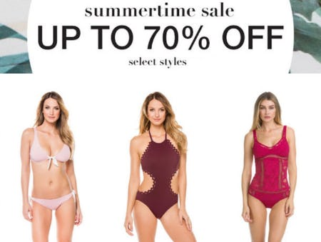 Up to 70% Off Summertime Sale from Everything But Water
