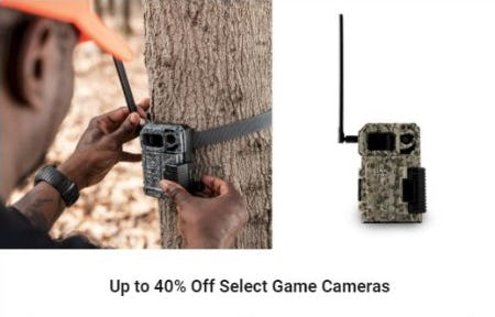 Up to 40% Off Select Game Cameras from Dick's Sporting Goods