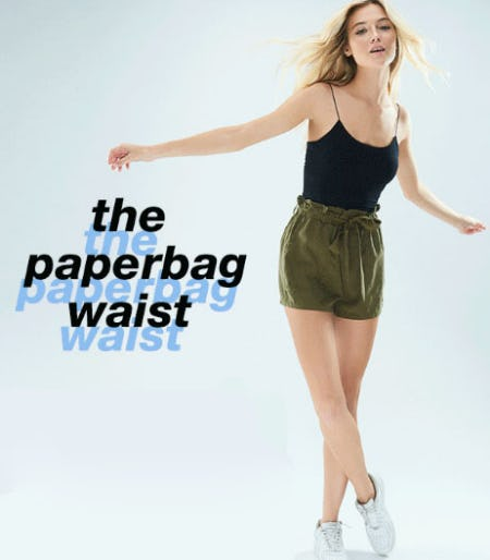 The Paperbag Waist from Garage