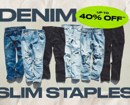 Up to 40% Off Denim from PacSun