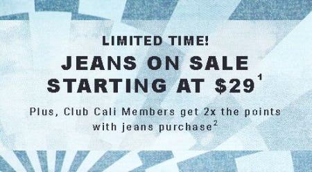 Jeans on Sale Starting at $29 from Hollister Co.