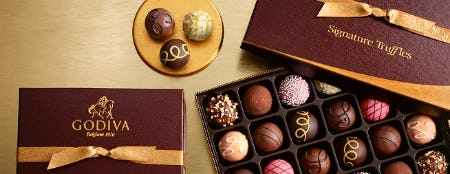 SEMI-ANNUAL SALE! from Godiva Chocolatier