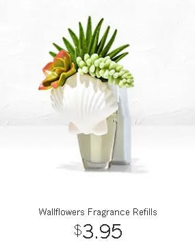 Wallflowers Fragrance Refills $3.95 from Bath & Body Works/White Barn