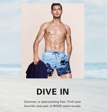 BOSS Swim Trunks from Hugo Boss