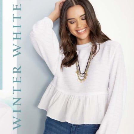 Winter White from Versona Accessories