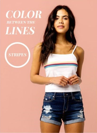 Stripes for Spring from Tilly's