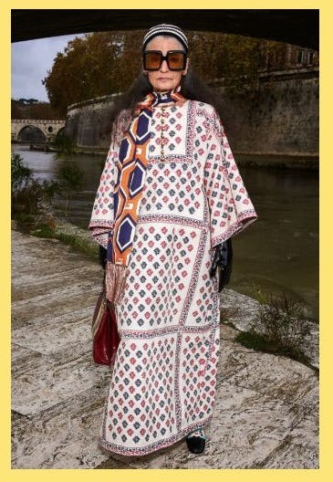 From the New Collection: Long Kaftan Dresses from Gucci