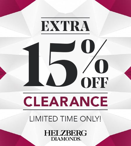 Welcome Back! We've Missed You! from Helzberg Diamonds