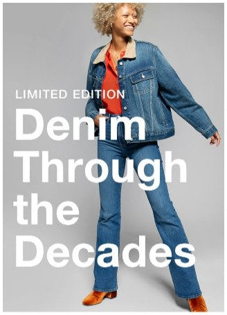 Introducing our Limited-edition Denim Through the Decades Collection from Gap