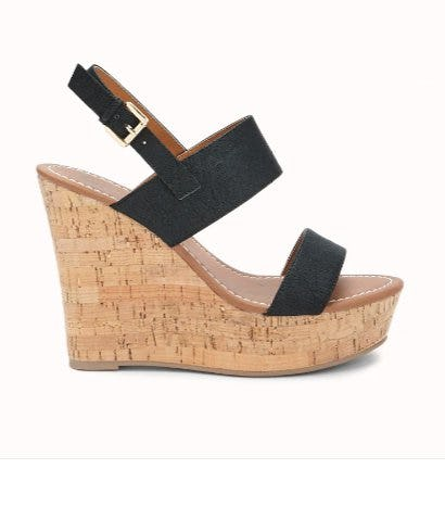 Faux Leather Wedges from Forever 21
