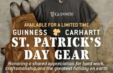 Guinness x Carhartt St. Patrick's Day Gear