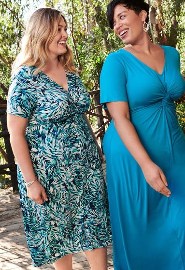 The Twist-Knot Dress from Catherines Plus Sizes