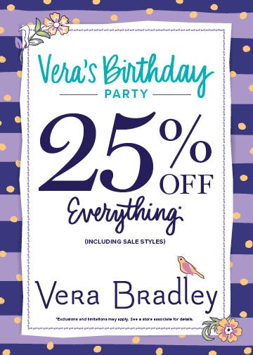 It's Vera's Birthday!