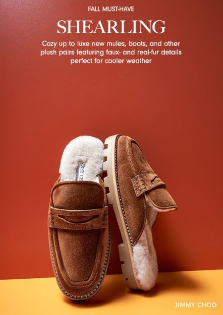 Must-Have Shearling Shoes from Neiman Marcus