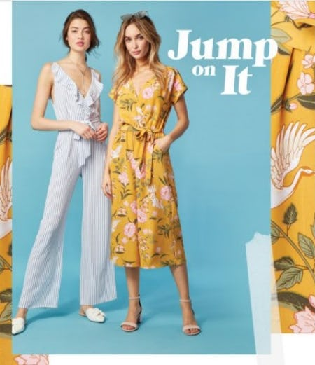 Jumpsuits and Rompers: One and Done