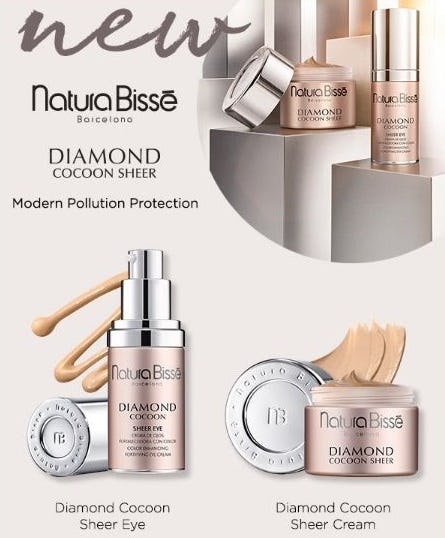 Natura Bissé Diamond Cocoon Sheer Eye from Bluemercury