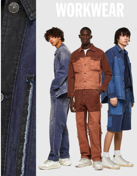 Utility Styles from Diesel