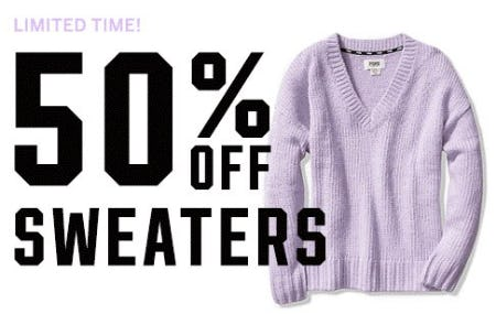 50% Off PINK Sweaters
