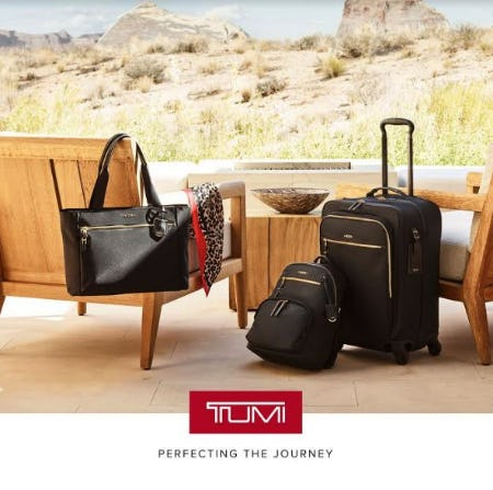 Set Forth in Style with Voyageur from TUMI