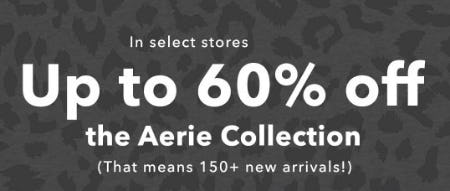 Up to 60% Off The Aerie Collection